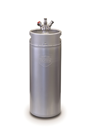 MG MINI Keg 10 liters med ball lock connector (Co2 og Øl)