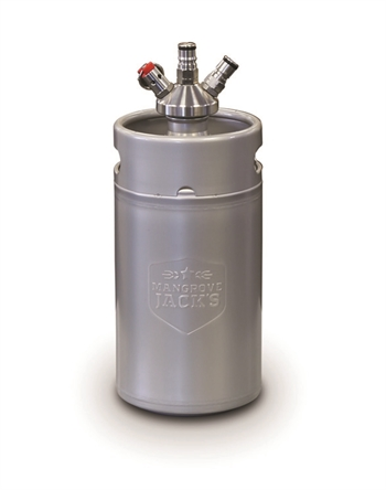 MG MINI Keg 3 liters med ball lock connector (Co2 og Øl)