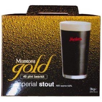 Muntons Gold Imperial Stout (19 liter 4,5%)
