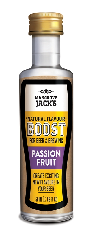 Natural Flavor Boosts - Passions frugt Essens 50 ml.