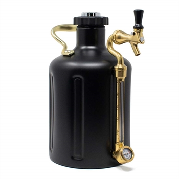 GrowlerWerks uKeg™ 128 stainless steel - 3.8 l (Mat sort)