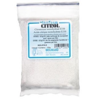 Citrol (Citronsyre/Citric Acid) 1 kg