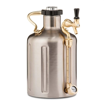 GrowlerWerks uKeg™ 64 stainless steel - 1.9 l