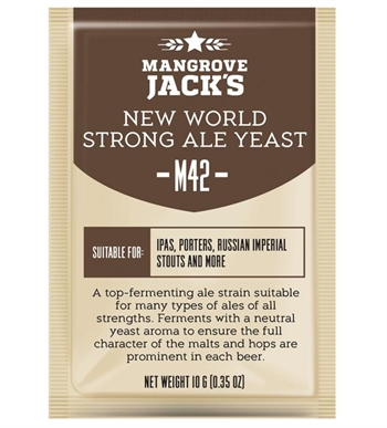 M42 New World Strong Ale gær - 10 g