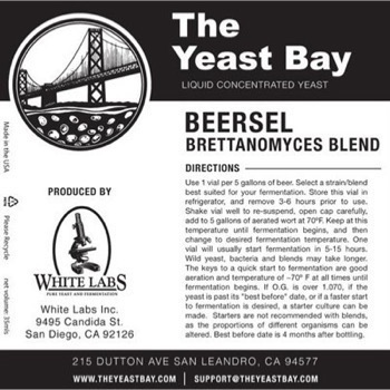 The Yeast Bay Beersel Brettanomyces Blend *BESTILLINGSVARE*
